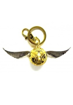 HP Golden Snitch Pewter Keychain