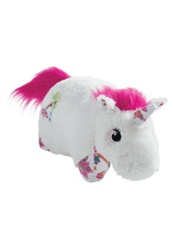 White Unicorn Pillow Pet