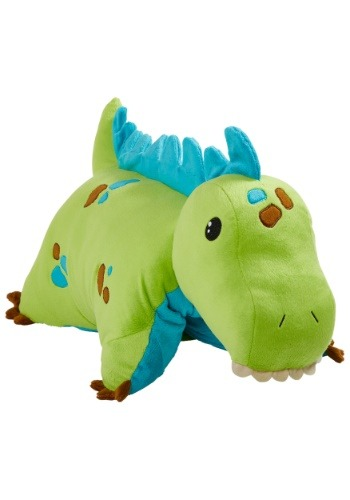 Green Dinosaur Pillow Pet