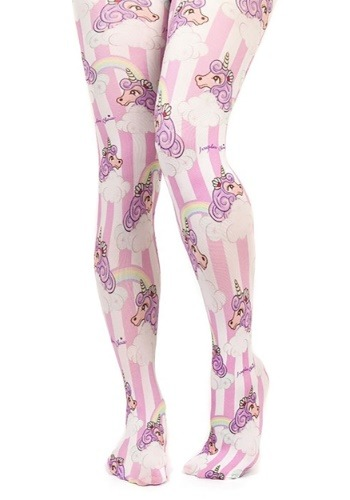 Irregular Choice Womens Rainbow Unicorn Tights