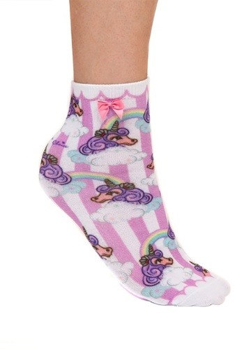 Irregular Choice Womens Rainbow Unicorn Socks