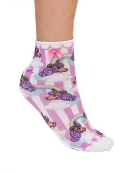 Irregular Choice Womens Rainbow Unicorn Socks