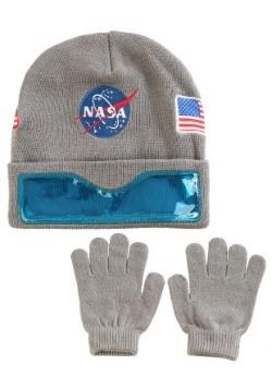 839641ede3 NASA Convertible Cuff w  Clear Visor Youth Ski Hat   Gloves