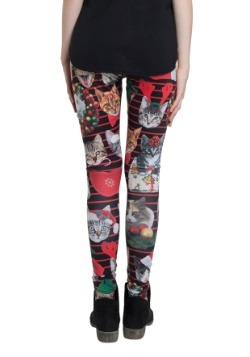 Holiday Christmas Catxmas Leggings 2