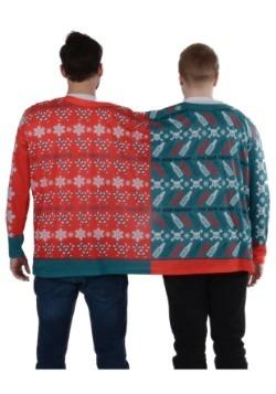 Naughty & Nice 2 Person Ugly Christmas Tee2