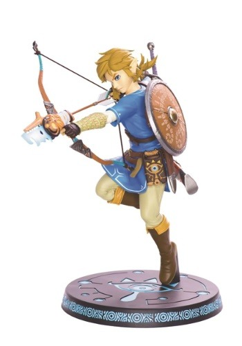 Legend of Zelda Breath of the Wild Link Statue