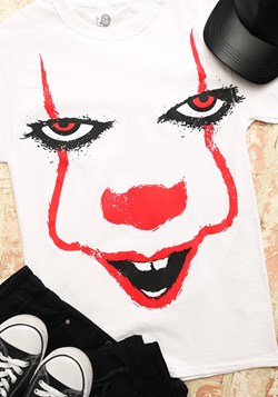 Pennywise Splatter Face Men's T-Shirt