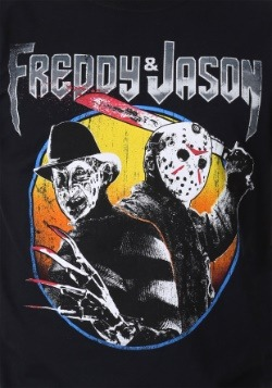 Freddy and Jason Metal Album Men's T-Shirt 2