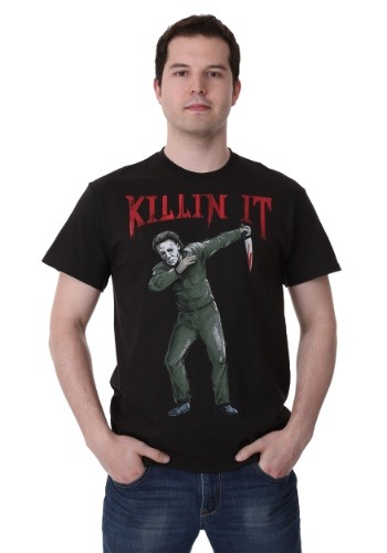 Michael Myers Dab Killin It Men's T-Shirt