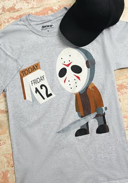 Sad Jason Friday the 12th Men's T-Shirt