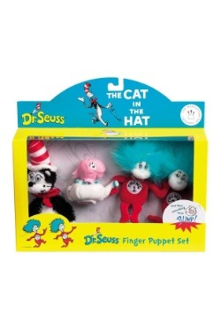 The Cat In The Hat Boxed Finger Puppet Set