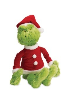 "The Grinch in Santa Suit 15"" Plush"