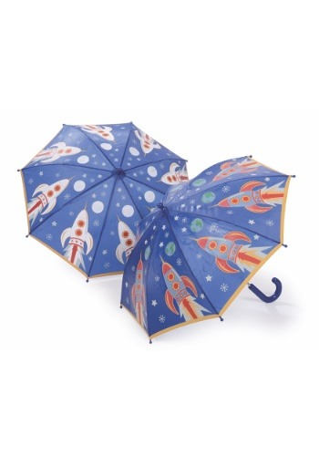 Space Rocket Color Changing Umbrella