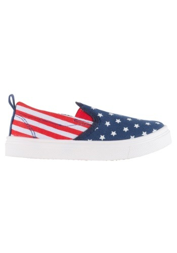 Old Glory Child Canvas Shoes