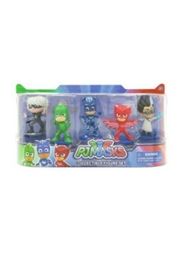 Packaged PJ Masks Collectible Figures Set
