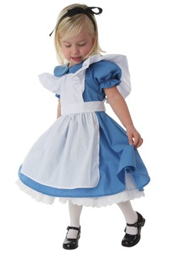 Toddler Girls Alice Costume Deluxe 1