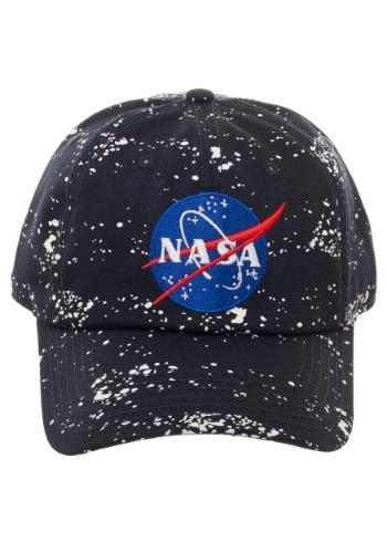 NASA Splatter Dad Hat