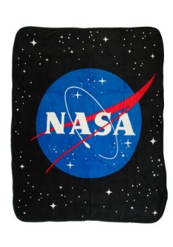 NASA Icon Fleece Throw