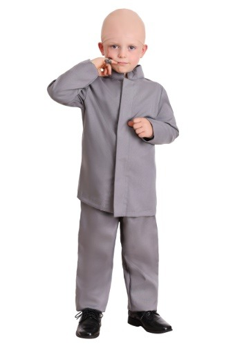 Toddler Gray Suit Toddler Costume