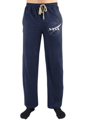 NASA Logo Denim Heather Sleep Pants