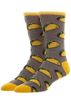 Free Authority Taco All Over Print Crew Sock