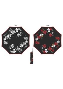 Liquid Reactive Disney Villains Roses Umbrella