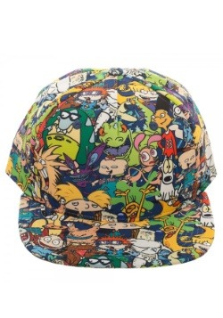 Nick Rewind All-Over Sublimated Print Snapback Hat