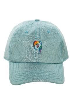 My Little Pony Rainbow Dash Glitter Fabric Dad Hat