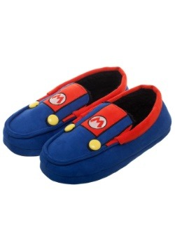 Adult Super Mario Suit-Up Moccasins2