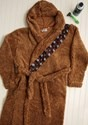 Chewbacca Adult Star Wars Sherpa Robe w/ Sound Chip