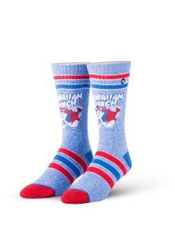 Odd Sox Hawaiian Punch Heather Knit Socks