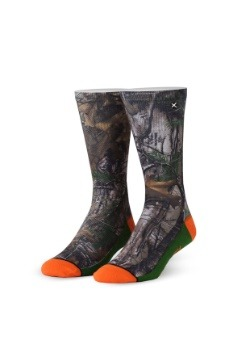 Odd Sox Real Tree Camo Sublimated Socks