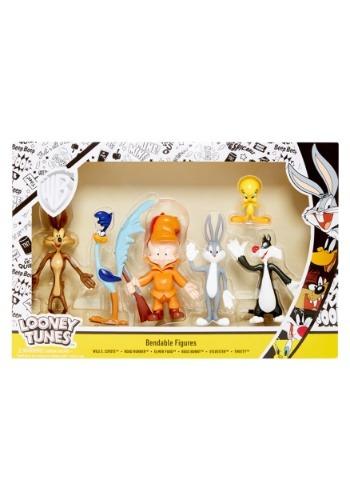 Looney Tunes 6pc Bendable Box Set