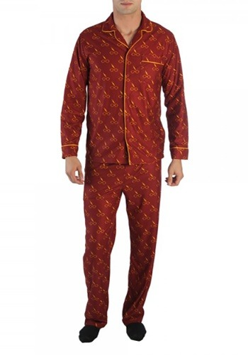 Harry Potter All-Over Print Men's Pajama Set