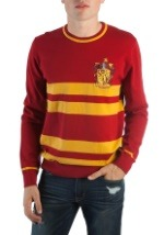Harry Potter Gryffindor Men's Jacquard Sweater