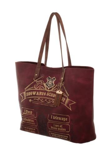 Harry Potter Hogwarts School List Tote