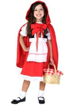 Toddler Riding Hood Costume
