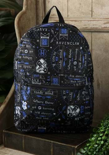 Harry Potter Icon Print Ravenclaw Backpack