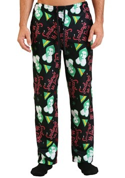 Men's Elf All Over Print Pajama Pants