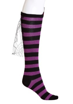 Novelty Witch Knee High Womens Socks Main