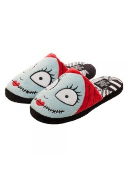 Nightmare Before Christmas Sally Scuff Slippers