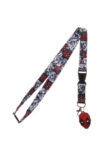 Marvel Deadpool Lanyard