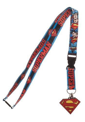 DC Superman Lanyard1