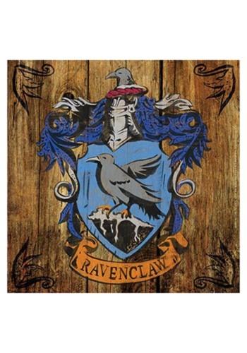 Harry Potter Ravenclaw Crest Rustic Sign