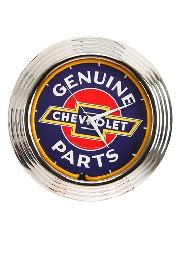 Chevrolet Neon Clock update1