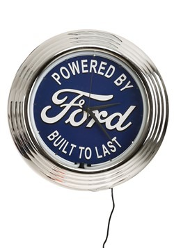 Ford Neon Clock update1