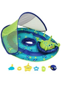 Octopus Baby Activity Center with Canopy