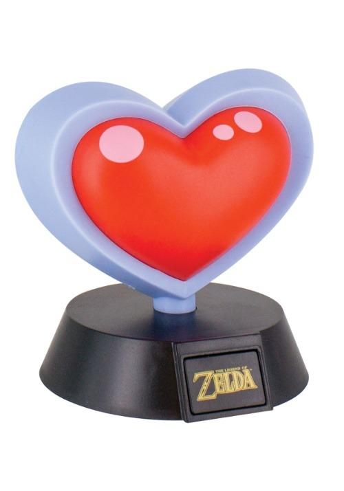 Legend of Zelda Heart Container 3D Light