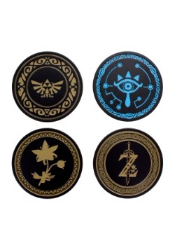 Legend of Zelda Metal Coaster Set
