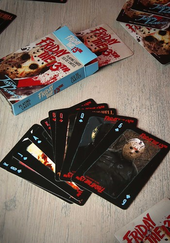 Friday the 13th Playing Card Set